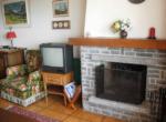Living cheminée